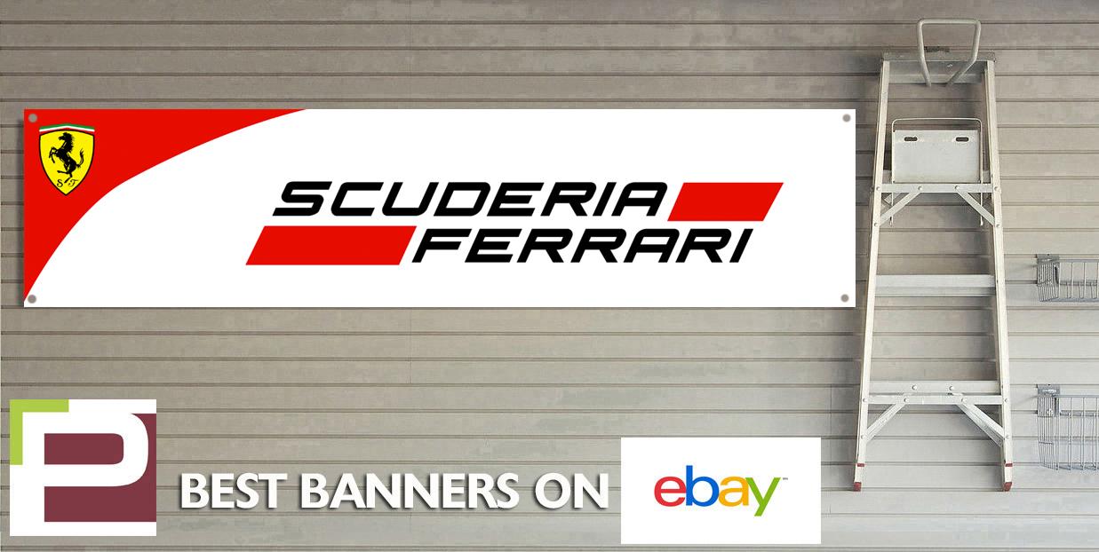 Scuderia ferrari f workshop garage banner sign ebay